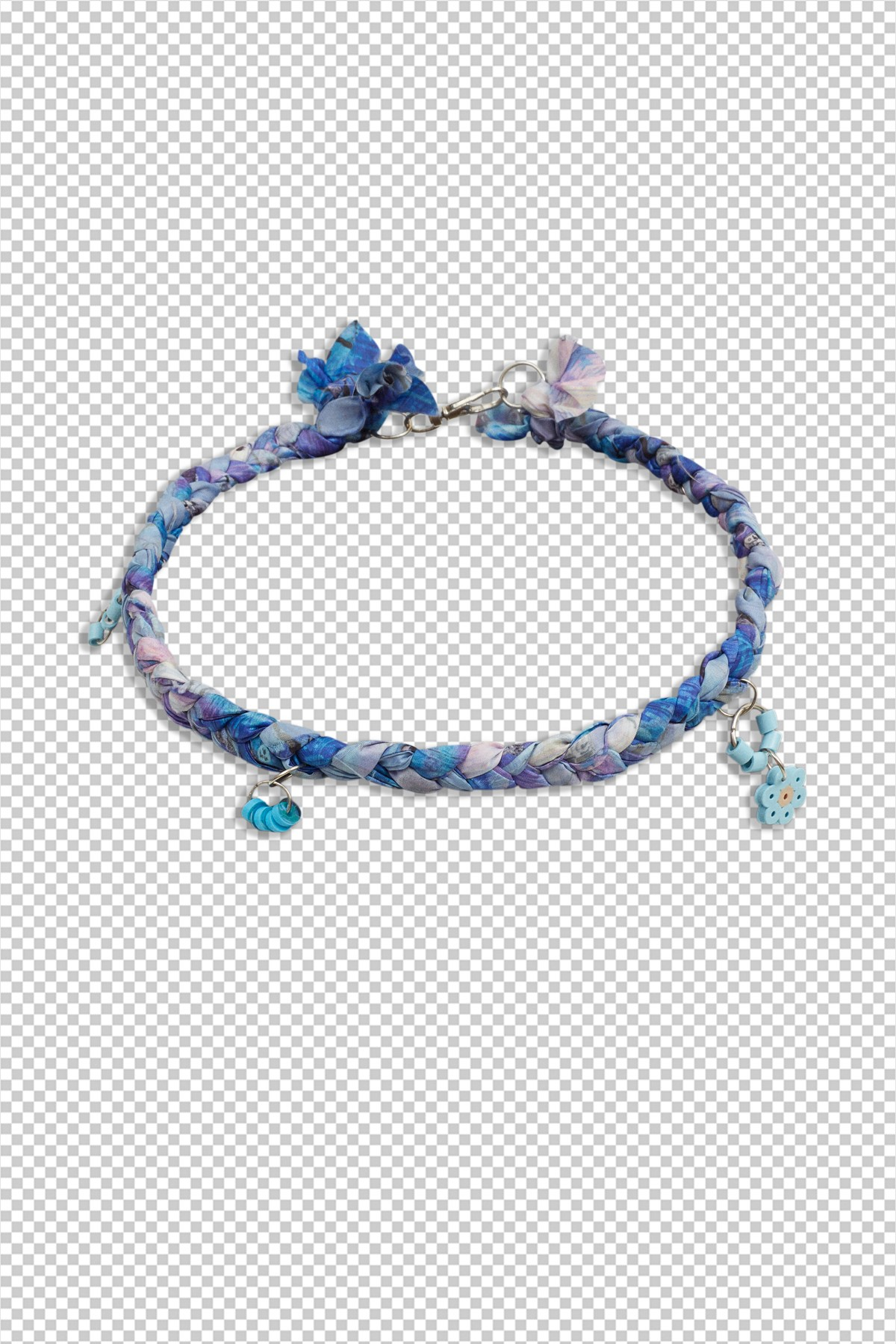 Open.Wear.Eat Necklace / Blue