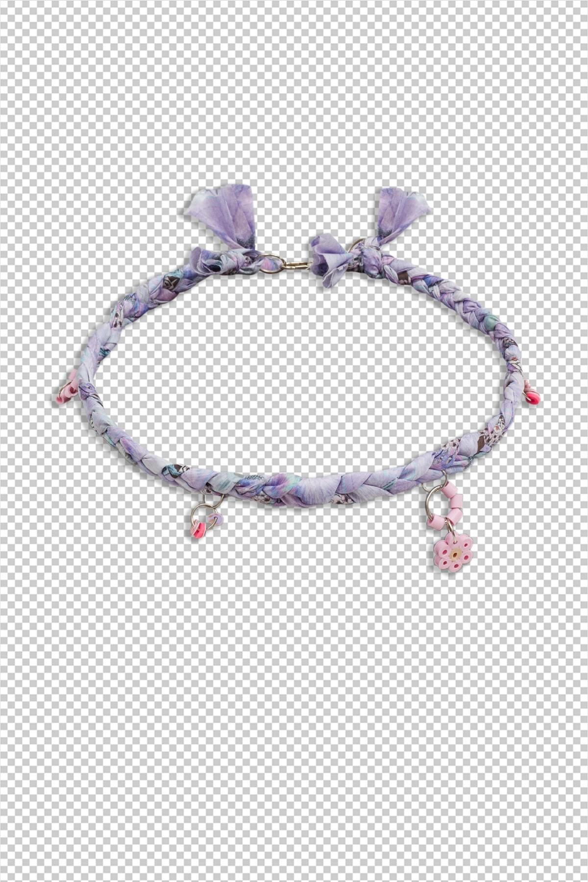 Open.Wear.Eat Necklace / Pink