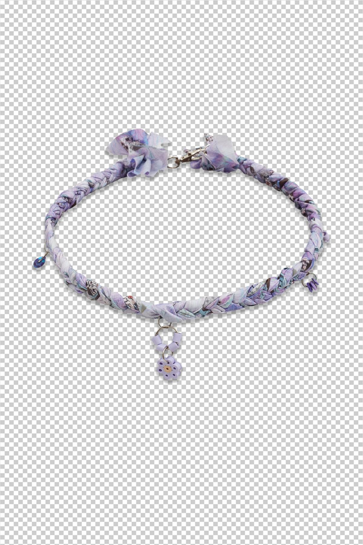 Open.Wear.Eat Necklace / Purple